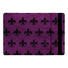 Royal1 Black Marble & Purple Leather (r) Apple Ipad Pro 10 5   Flip Case by trendistuff