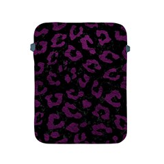 Skin5 Black Marble & Purple Leather Apple Ipad 2/3/4 Protective Soft Cases
