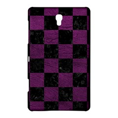 Square1 Black Marble & Purple Leather Samsung Galaxy Tab S (8 4 ) Hardshell Case  by trendistuff