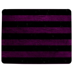 Stripes2 Black Marble & Purple Leather Jigsaw Puzzle Photo Stand (rectangular) by trendistuff