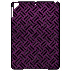 Woven2 Black Marble & Purple Leather Apple Ipad Pro 9 7   Hardshell Case by trendistuff