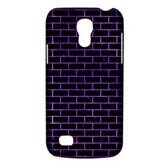 Brick1 Black Marble & Purple Watercolor (r) Galaxy S4 Mini by trendistuff