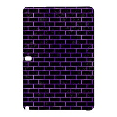 Brick1 Black Marble & Purple Watercolor (r) Samsung Galaxy Tab Pro 12 2 Hardshell Case by trendistuff