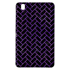 Brick2 Black Marble & Purple Watercolor (r) Samsung Galaxy Tab Pro 8 4 Hardshell Case by trendistuff