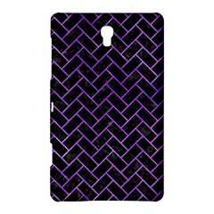 Brick2 Black Marble & Purple Watercolor (r) Samsung Galaxy Tab S (8 4 ) Hardshell Case  by trendistuff