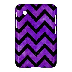 Chevron9 Black Marble & Purple Watercolor Samsung Galaxy Tab 2 (7 ) P3100 Hardshell Case  by trendistuff