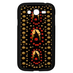 Pumkin Witch In Candles And White Magic Samsung Galaxy Grand Duos I9082 Case (black) by pepitasart