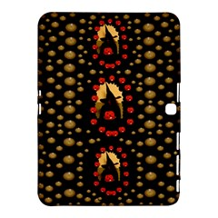 Pumkin Witch In Candles And White Magic Samsung Galaxy Tab 4 (10 1 ) Hardshell Case  by pepitasart