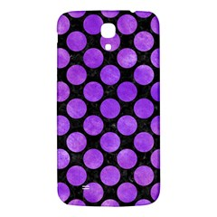 Circles2 Black Marble & Purple Watercolor (r) Samsung Galaxy Mega I9200 Hardshell Back Case by trendistuff