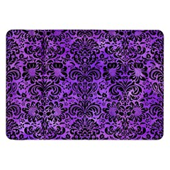 Damask2 Black Marble & Purple Watercolor Samsung Galaxy Tab 8 9  P7300 Flip Case by trendistuff