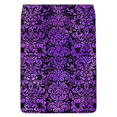 Damask2 Black Marble & Purple Watercolor (r) Flap Covers (l)  by trendistuff