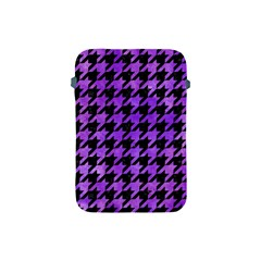 Houndstooth1 Black Marble & Purple Watercolor Apple Ipad Mini Protective Soft Cases by trendistuff