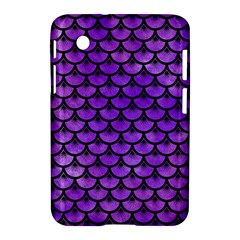 Scales3 Black Marble & Purple Watercolor Samsung Galaxy Tab 2 (7 ) P3100 Hardshell Case  by trendistuff