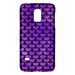 Scales3 Black Marble & Purple Watercolor Galaxy S5 Mini by trendistuff