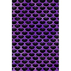 Scales3 Black Marble & Purple Watercolor (r) 5 5  X 8 5  Notebooks by trendistuff