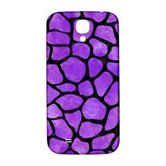 Skin1 Black Marble & Purple Watercolor (r) Samsung Galaxy S4 I9500/i9505  Hardshell Back Case by trendistuff