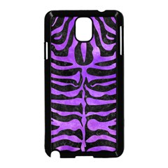 Skin2 Black Marble & Purple Watercolor (r) Samsung Galaxy Note 3 Neo Hardshell Case (black) by trendistuff