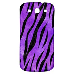 Skin3 Black Marble & Purple Watercolor Samsung Galaxy S3 S Iii Classic Hardshell Back Case by trendistuff