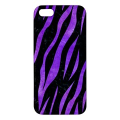 Skin3 Black Marble & Purple Watercolor (r) Apple Iphone 5 Premium Hardshell Case by trendistuff