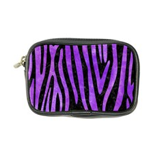 Skin4 Black Marble & Purple Watercolor Coin Purse by trendistuff