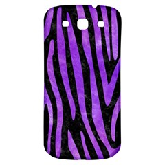Skin4 Black Marble & Purple Watercolor Samsung Galaxy S3 S Iii Classic Hardshell Back Case by trendistuff