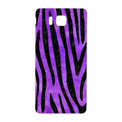 Skin4 Black Marble & Purple Watercolor (r) Samsung Galaxy Alpha Hardshell Back Case by trendistuff