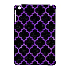 Tile1 Black Marble & Purple Watercolor (r) Apple Ipad Mini Hardshell Case (compatible With Smart Cover) by trendistuff