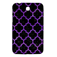 Tile1 Black Marble & Purple Watercolor (r) Samsung Galaxy Tab 3 (7 ) P3200 Hardshell Case  by trendistuff