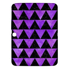 Triangle2 Black Marble & Purple Watercolor Samsung Galaxy Tab 3 (10 1 ) P5200 Hardshell Case  by trendistuff