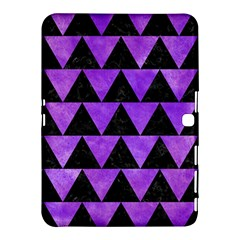 Triangle2 Black Marble & Purple Watercolor Samsung Galaxy Tab 4 (10 1 ) Hardshell Case  by trendistuff