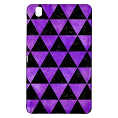 Triangle3 Black Marble & Purple Watercolor Samsung Galaxy Tab Pro 8 4 Hardshell Case by trendistuff