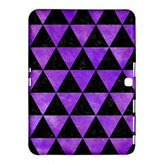 Triangle3 Black Marble & Purple Watercolor Samsung Galaxy Tab 4 (10 1 ) Hardshell Case  by trendistuff