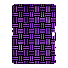 Woven1 Black Marble & Purple Watercolor (r) Samsung Galaxy Tab 4 (10 1 ) Hardshell Case  by trendistuff