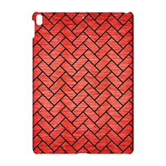 Brick2 Black Marble & Red Brushed Metal Apple Ipad Pro 10 5   Hardshell Case by trendistuff