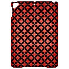 Circles3 Black Marble & Red Brushed Metal Apple Ipad Pro 9 7   Hardshell Case by trendistuff