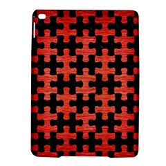 Puzzle1 Black Marble & Red Brushed Metal Ipad Air 2 Hardshell Cases by trendistuff