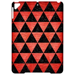 Triangle3 Black Marble & Red Brushed Metal Apple Ipad Pro 9 7   Hardshell Case by trendistuff
