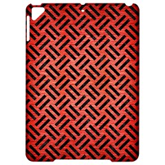Woven2 Black Marble & Red Brushed Metal Apple Ipad Pro 9 7   Hardshell Case by trendistuff