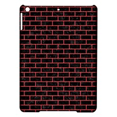Brick1 Black Marble & Red Colored Pencil (r) Ipad Air Hardshell Cases by trendistuff