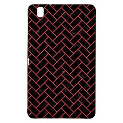 Brick2 Black Marble & Red Colored Pencil (r) Samsung Galaxy Tab Pro 8 4 Hardshell Case by trendistuff