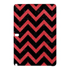 Chevron9 Black Marble & Red Colored Pencil (r) Samsung Galaxy Tab Pro 10 1 Hardshell Case by trendistuff