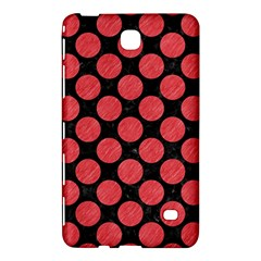 Circles2 Black Marble & Red Colored Pencil (r) Samsung Galaxy Tab 4 (8 ) Hardshell Case  by trendistuff