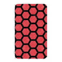 Hexagon2 Black Marble & Red Colored Pencil Memory Card Reader by trendistuff