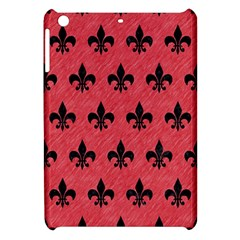 Royal1 Black Marble & Red Colored Pencil (r) Apple Ipad Mini Hardshell Case by trendistuff