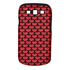 Scales3 Black Marble & Red Colored Pencil Samsung Galaxy S Iii Classic Hardshell Case (pc+silicone) by trendistuff