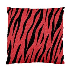 Skin3 Black Marble & Red Colored Pencil Standard Cushion Case (two Sides) by trendistuff