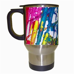 No 128 Travel Mugs (white) by AdisaArtDesign