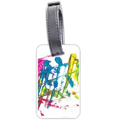 No 128 Luggage Tags (two Sides) by AdisaArtDesign