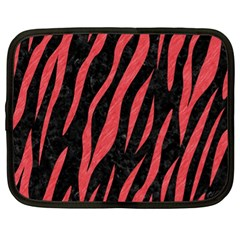 Skin3 Black Marble & Red Colored Pencil (r) Netbook Case (xl)  by trendistuff