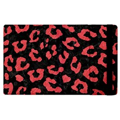 Skin5 Black Marble & Red Colored Pencil Apple Ipad 2 Flip Case by trendistuff